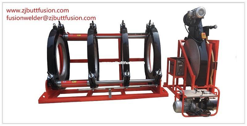 710-1000 butt fusion welding machine