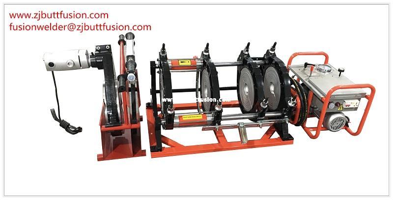 63-250mm máquina de termofusión