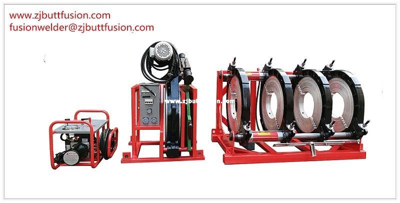 250-500mm máquina de termofusión