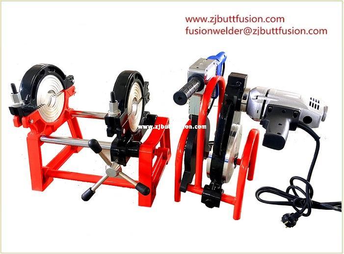 40-160mm máquina de electrofusión(2 abrazaderas)