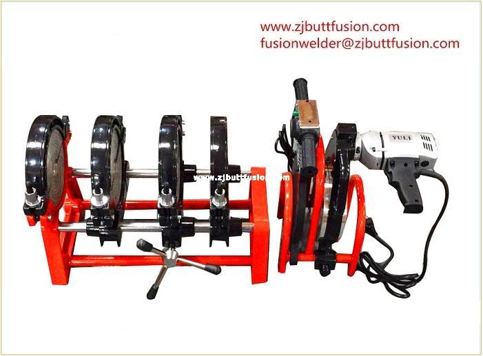 40-160mm máquina de electrofusión(4 abrazaderas)
